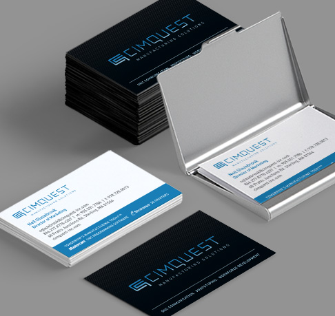 Print design studio specializing in tech companies aviate creative technology company business card design reheart Gallery