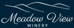 meadow view winery logo design