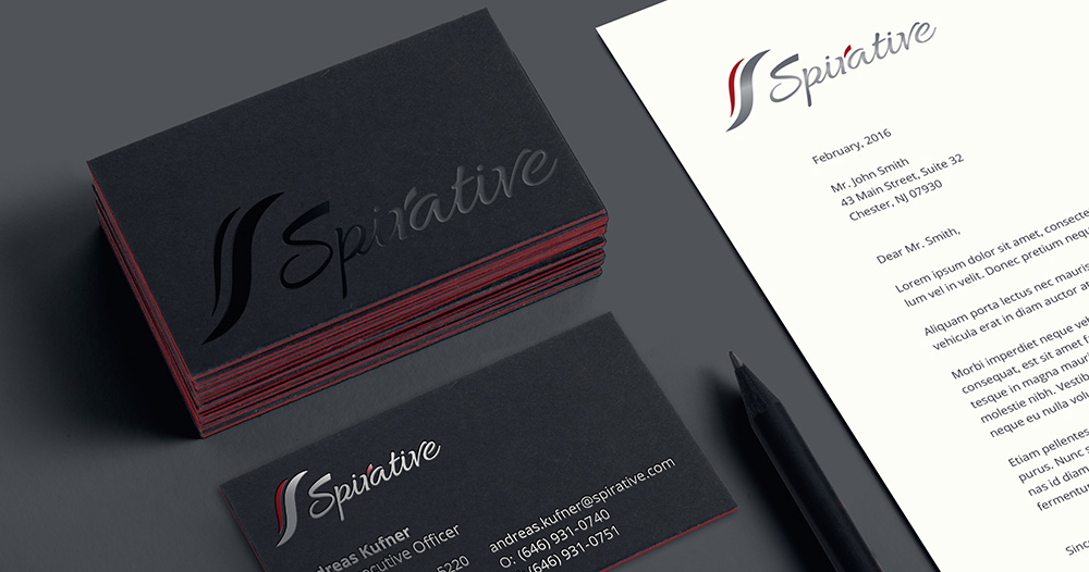 best beautiful elegant business cards and letterhead design