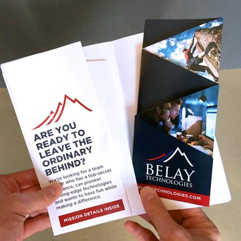 best technology brochure and envelope design