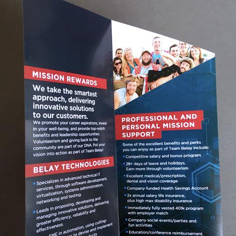 best technology brochure design open