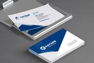 manufacturing business cards design agency